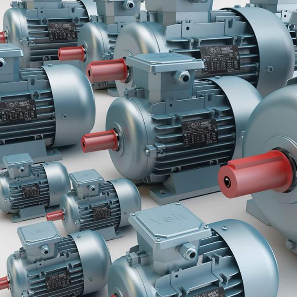 Volt Elektrik 3 Fazlı Asenkron Motor